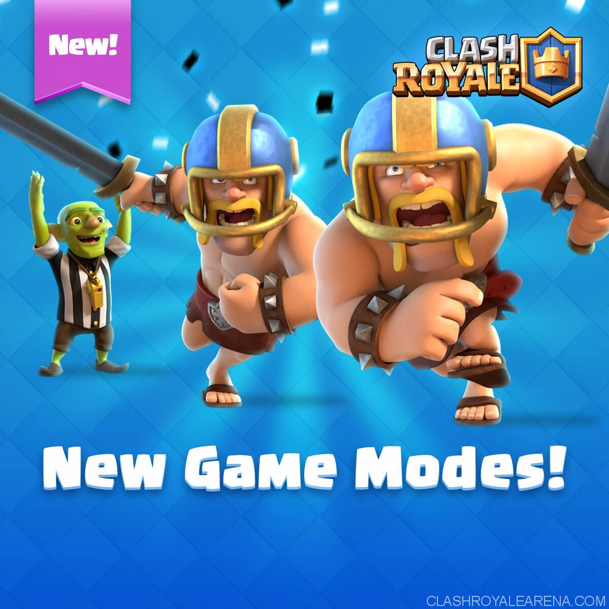touchdown mode clash royale