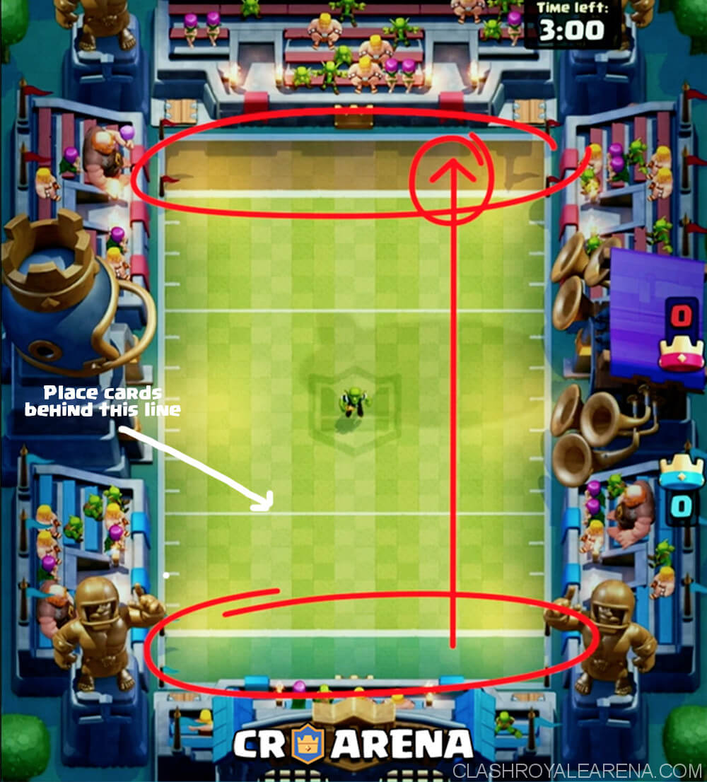 Touchdown Mode Best Tips For You Clash Royale Guides