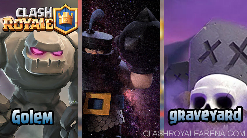 Golem Or Knight Graveyard Clash Royale Guides