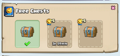 new free chests