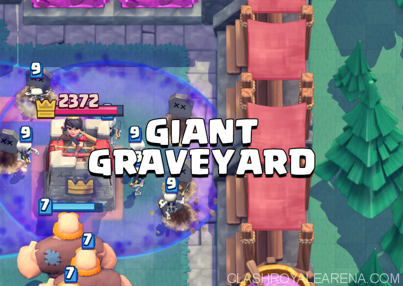Giant Graveyard Cycle 2v2 - Pressure and Punishment!