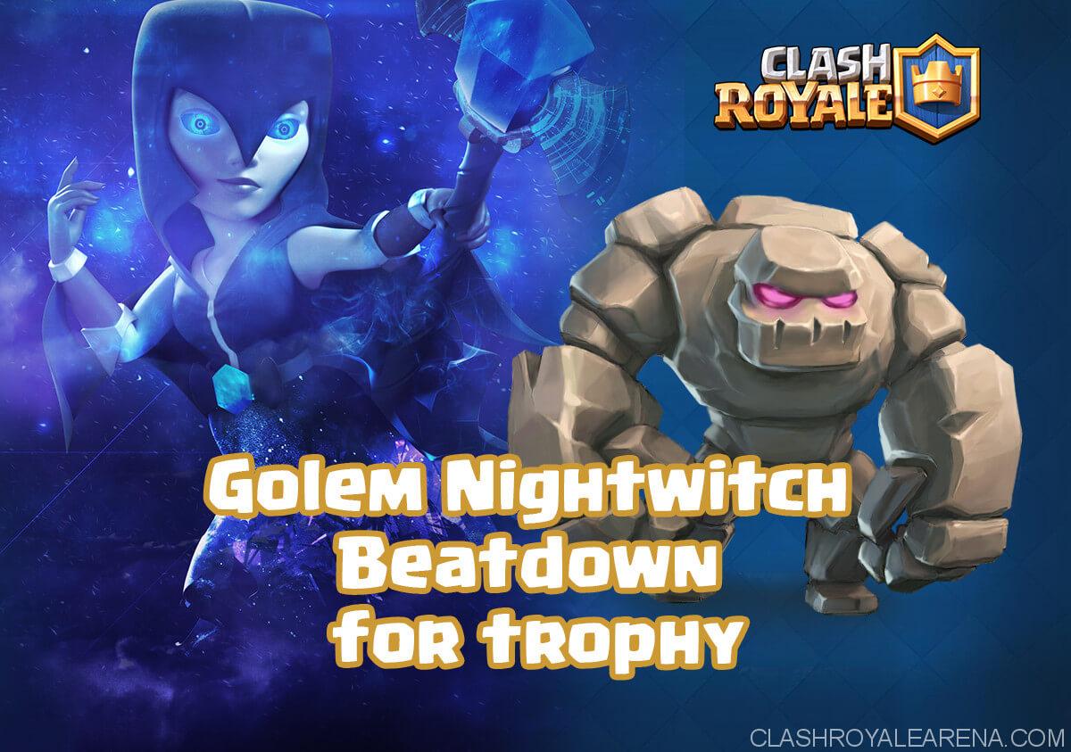 Golem Nightwitch Beatdown for insane trophy
