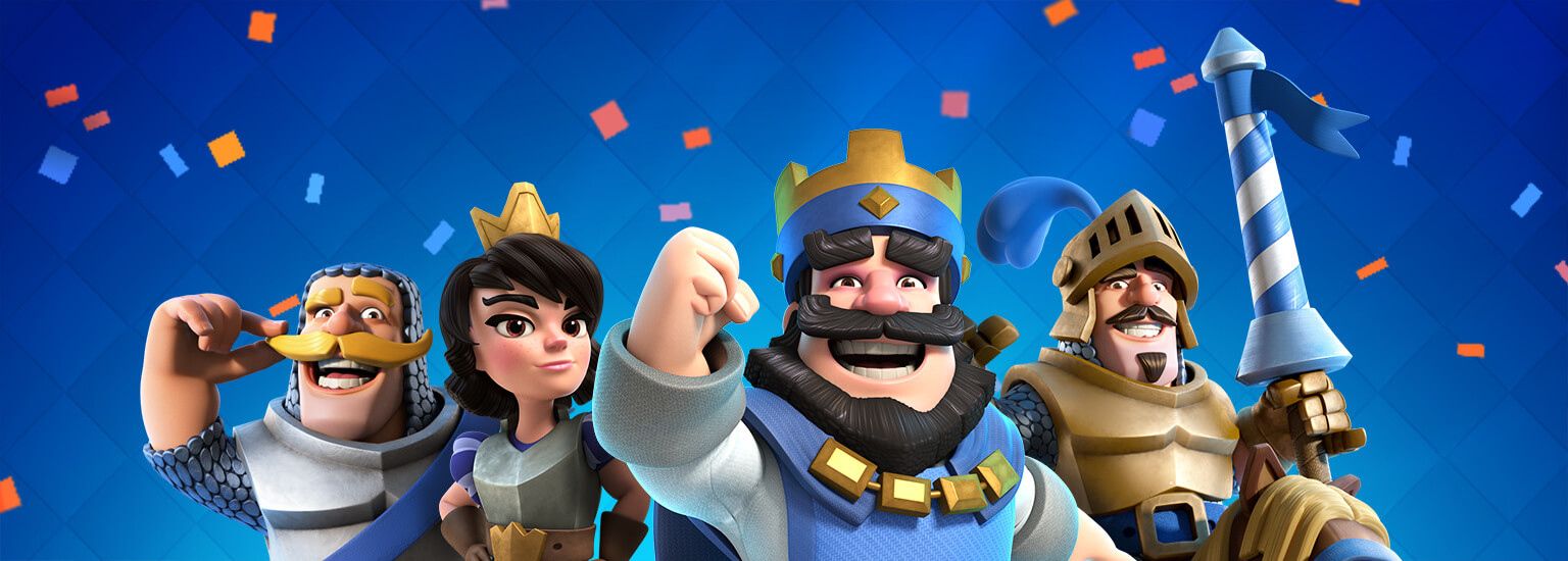 happy birthday clash royale