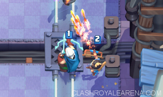 magic archer vs princess