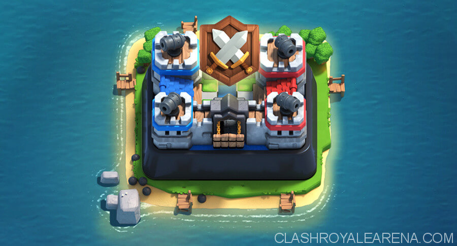 clash royale clan wars battle