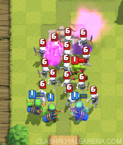 how to make your opponent lag in clash royale