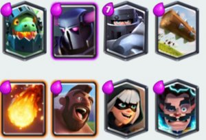 Clash Royale- Hog Bandit Deck