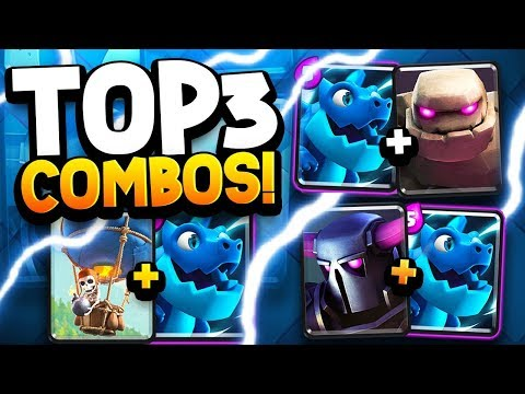 4 Insane Electro Dragon Deck Combos Is He Op Clash