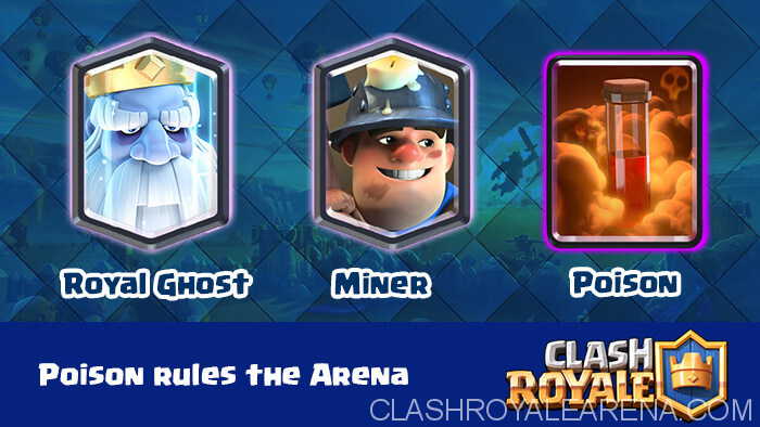 Royal Ghost, Miner and Poison