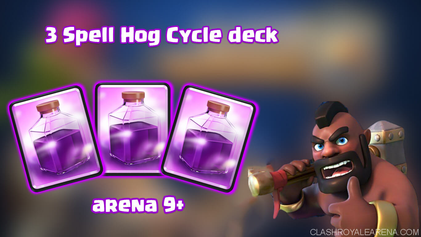 3 Spell Hog