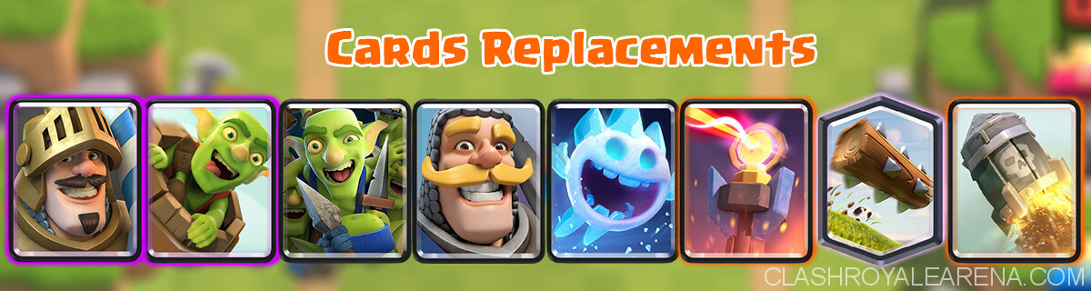 Cards Replacements