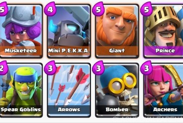 Arena 4 Deck: Push to Arena 4 at Level 3 | Clash Royale Guide